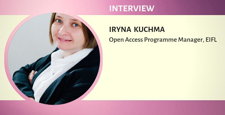 Iryna Kuchma(EIFL 오픈 액세스 프로그램 관리자)와 인터뷰