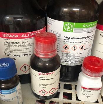 독성 표시 시약병 라벨