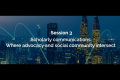Session 3 - Scholarly communications: Where advocacy and social community intersectsession