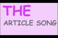 정관사 The 용법 노래